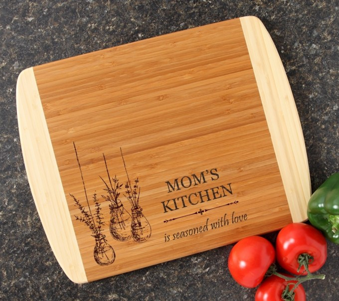 Personalized Cutting Board Custom Engraved 14x11 DESIGN 37 CBC-037