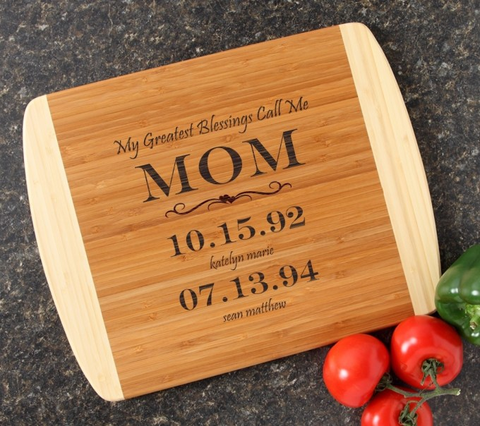 Personalized Cutting Board Custom Engraved 14x11 DESIGN 38 CBC-038