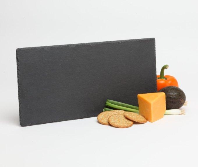 Personalized Slate Cheese Board Custom Engraved Cheese Board 15 x 7