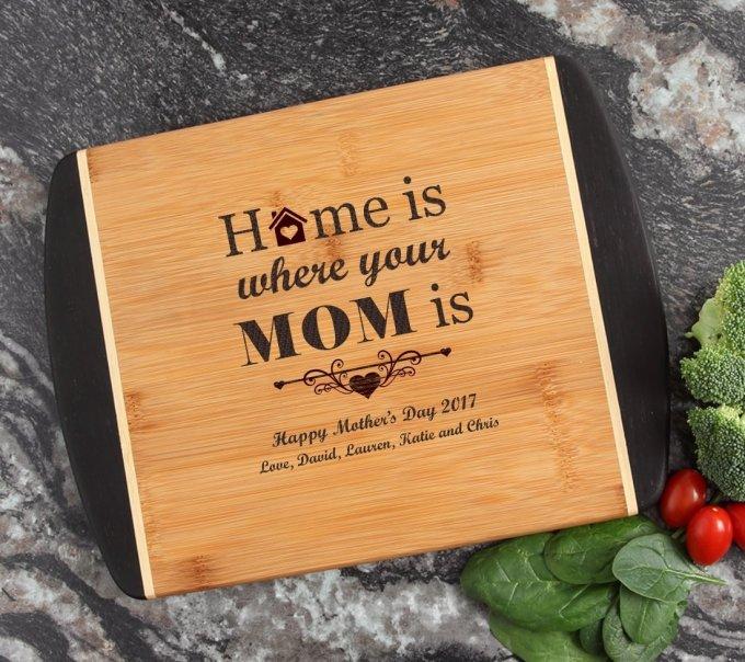 Cutting Board Engraved Personalized Bamboo 12 x 9 DESIGN 42 CBI-042