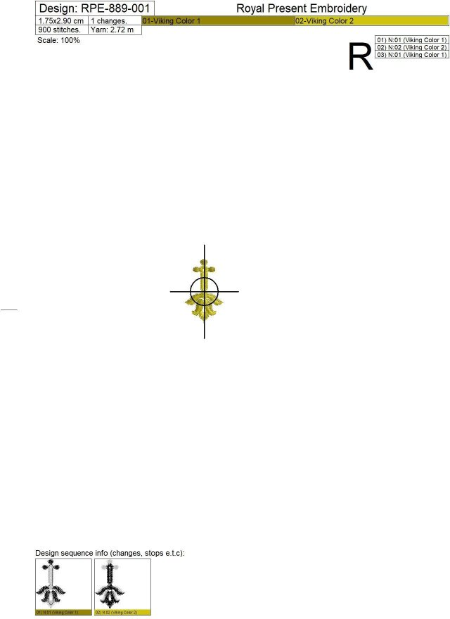 Два Дизайна машинной вышивки Прорези для пуговиц барокко