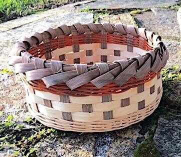 Round Beginner's Bread Basket, Saturday March 21, 2020. 2:30-6:30 PM.