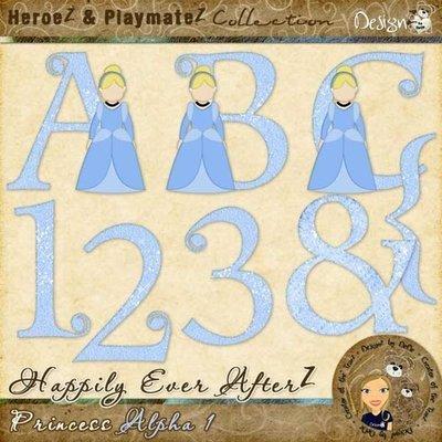 Happily Ever AfterZ: Princess Alpha 1