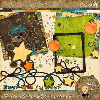 BoyZ Will Be BoyZ: ClusterZ StackZ & ScatterZ