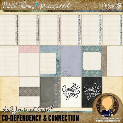 Co-Dependency & Connection | Journal CardZ