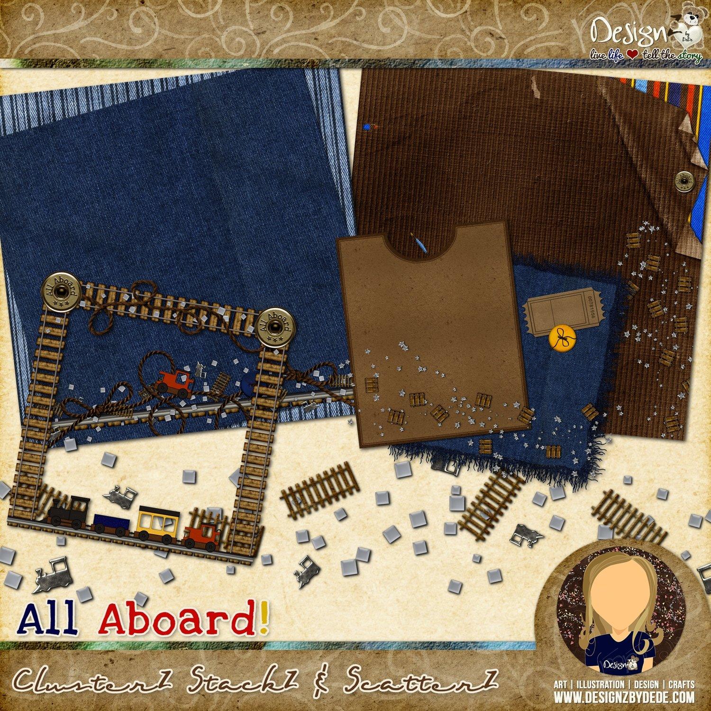 All Aboard! | ClusterZ StackZ & ScatterZ
