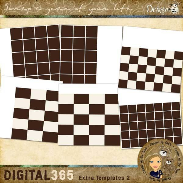 Digital 365: Extra Templates 2