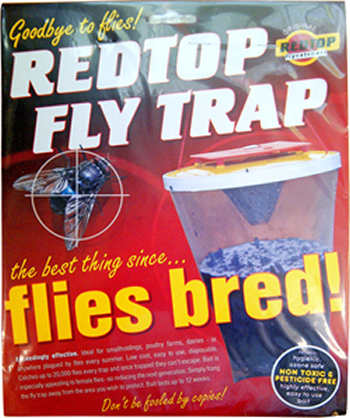 Red Top Fly Trap 00006