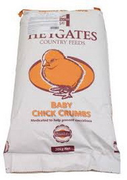 Massey Feeds Baby Chick Crumb per 25kg. 00017