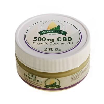 CBD Coconut Oil - 500mg