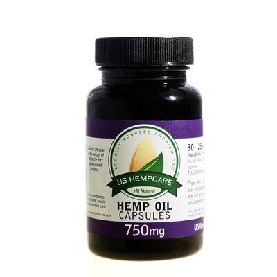 Hemp Oil Capsules - 750mg