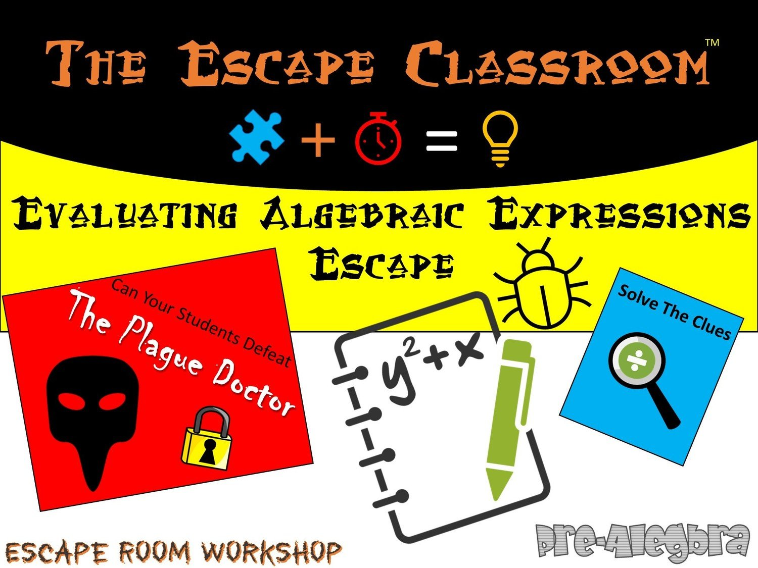 Evaluating Algebraic Expressions 1 Teacher License