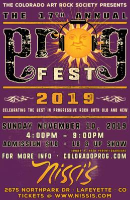Prog Fest - Nov 10 2019 - 4:00pm