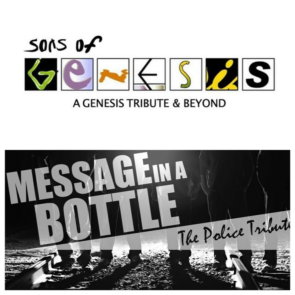 Sons of Genesis & Message In A Bottle – May 23 2020 – 7:30pm