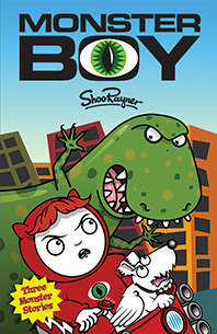 Monster Boy - Signed book and Free Poster! 00072