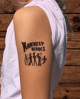 Harvest Heroes Tattoo 00004