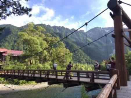 河童橋、上高地