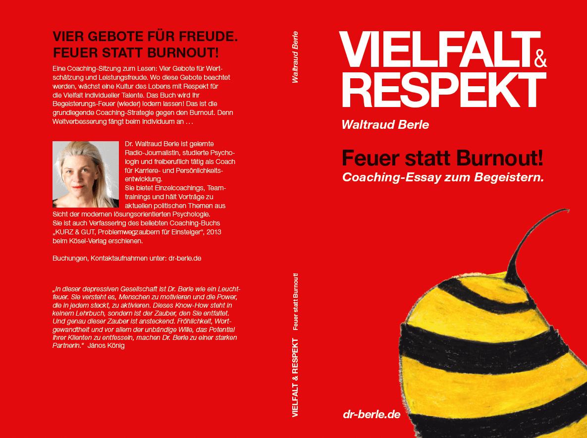 Vielfalt&Respekt, Das neue Berle-Buch, Cover