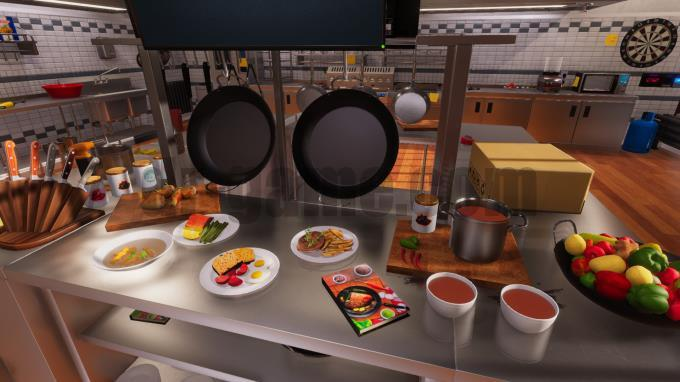 لعبة cooking simulator