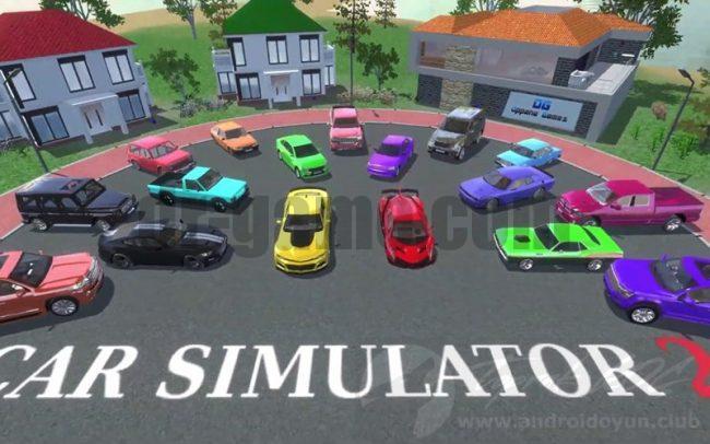 تحميل لعبة car simulator 2 مهكرة