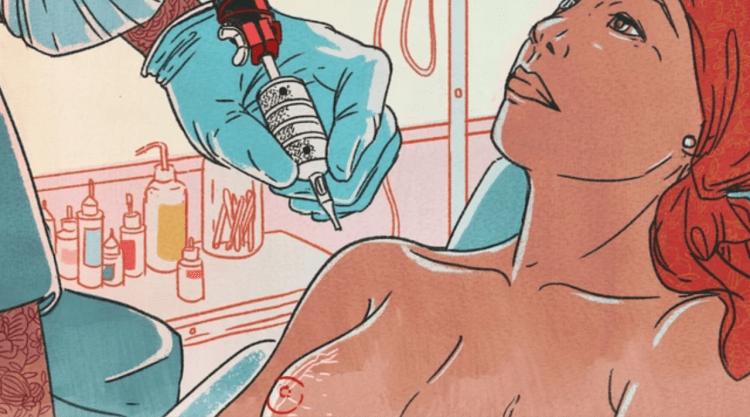 乳暈紋身如何幫助乳癌患者重獲自信