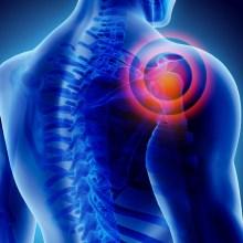 illustration of shoulder painful picture