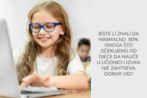 pregled dioptrije za djecu