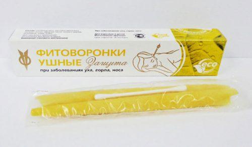 Фитоворонки (свечи от ушных пробок)