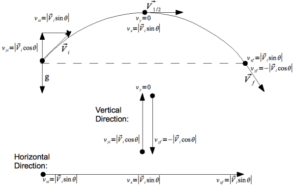 Projectile Motion Problem Solving   CK-12 Foundation