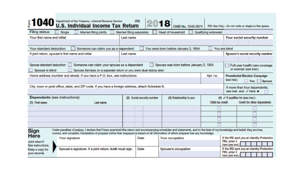 How to Fill Out Your 1040 Form (2019-2020) - SmartAsset