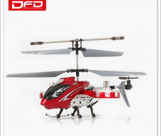 Doma Dfd F103 4 Channel Led I R Mini Rc Helicopter With Gyro Red