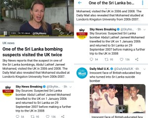 , U.K Media, The Daily Mail and Sky News, Promote Terrorists to Catch Human Attention and sell their Ideas to People. And Twitter supports them! Dr ACactivism explains their Mean and Evil Thinking