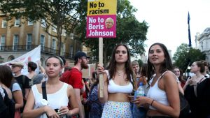 , Why peaceful protests must continue against Boris Johnson and British people rebel against Political oppression and injustice