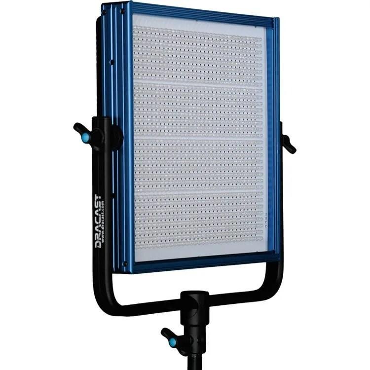 Dracast Plus LED1000 Bi-Color 3-Light Studio Kit with V-Mount and Gold Mount Battery Plates