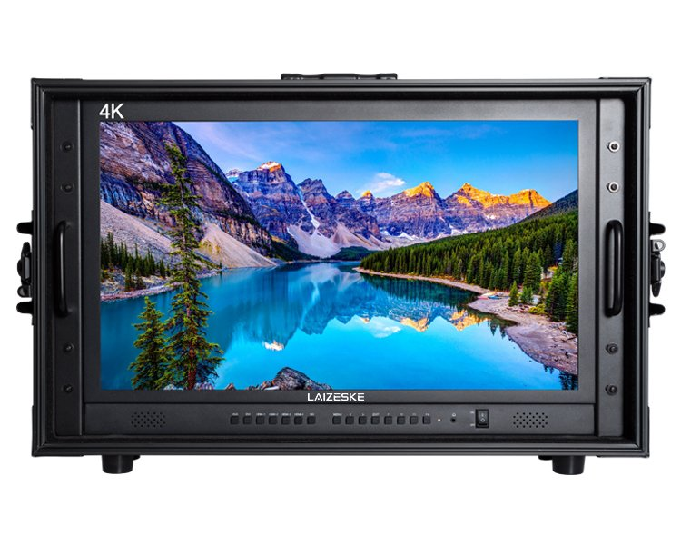 """Laizeske CO238S 23.8"""" 4K Carry-On Production Monitor"""