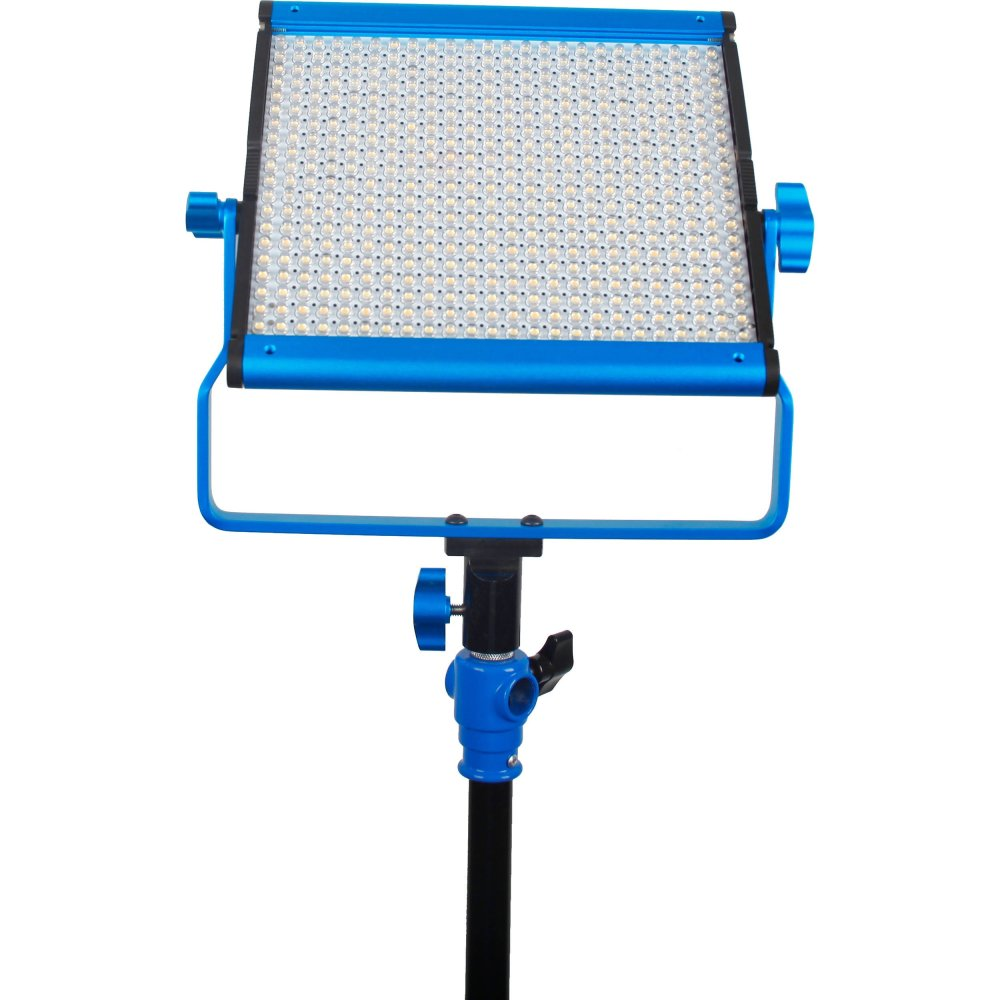 Dracast LED500 Silver Series Bi-Color Light with V-Mount Battery Plate