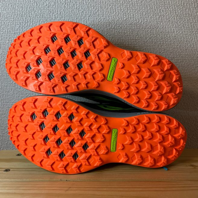 Saucony CANYON TR sole