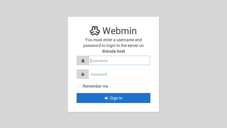 webmin_login_screen