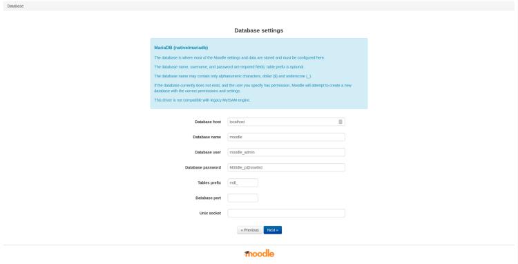 moodle_database_configuration