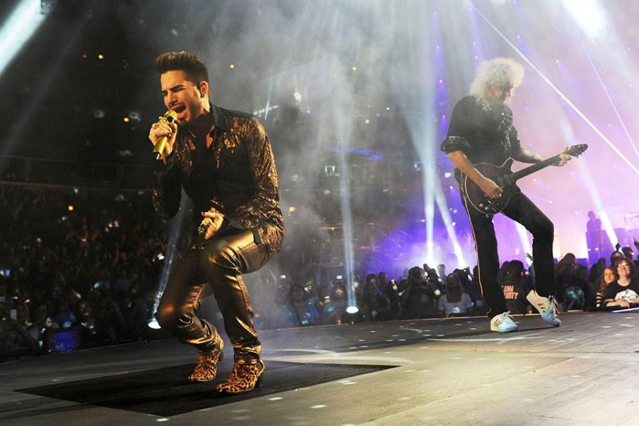 Queen, Brian May, Adam Lambert