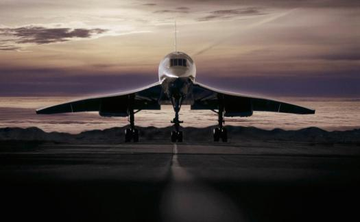 Concorde at Sunset