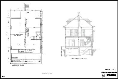 Basement and Cross Section