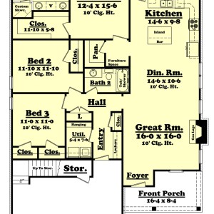 House Plan 1206 3.2.2