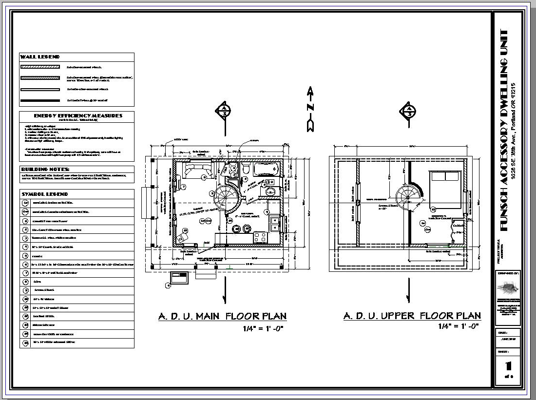 Residential Drafting Services Of Portland Oregon Current