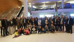Group photo arrival February 22, 2017
