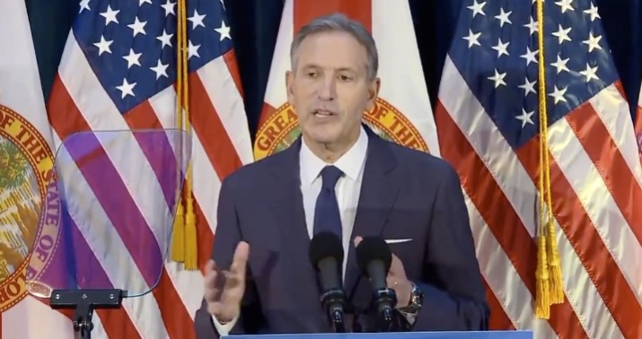 Cory Gardner Howard  Schultz:  When  I'm  president,  I'll  just  choose  Court  nominees  who  can  win  a  two-thirds  vote  of  the  Senate