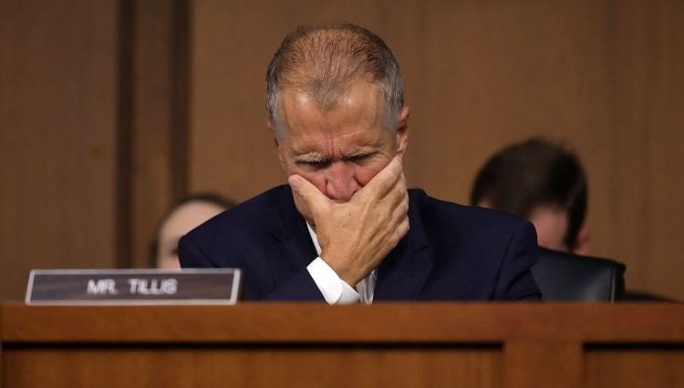 Cory Gardner Trump  Squeezes  Skittish  2020  Senate  Republicans  On  Emergency  Statement