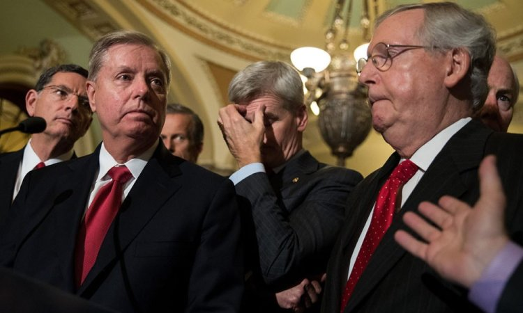Cory Gardner McConnell and GOP frantic they're about to lose control of the Senate as more seats come into play: report