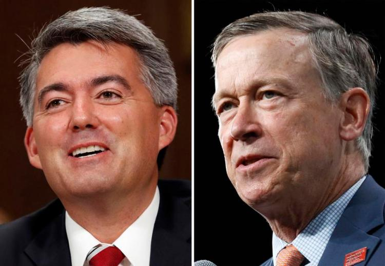 Cory Gardner New Colorado poll shows Hickenlooper widening double-digit lead over Gardner (Ernest Luning/Colorado Politics)