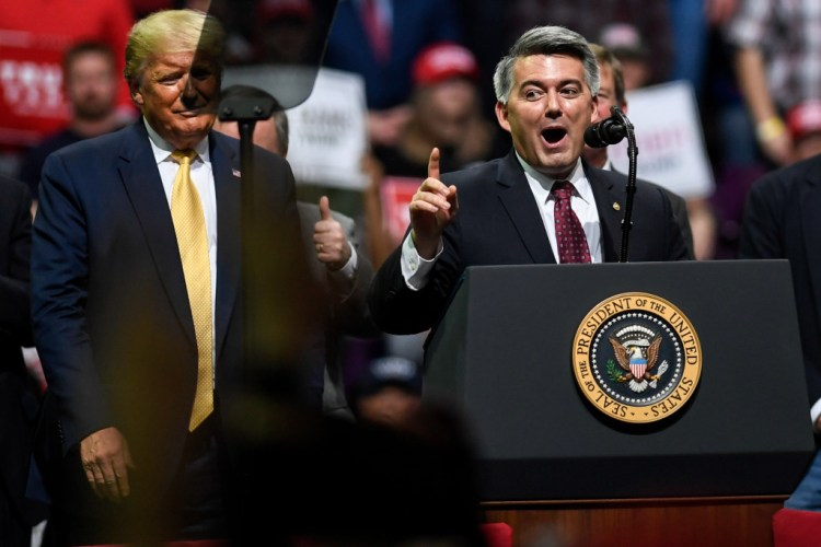 Andrew Romanoff Trump hands Cory Gardner election year wins